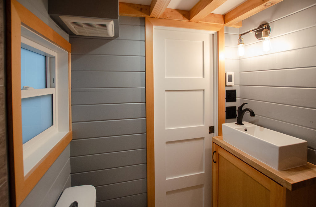 "24' ""Surfbird"" Tiny House on Wheels by Rewild Homes"