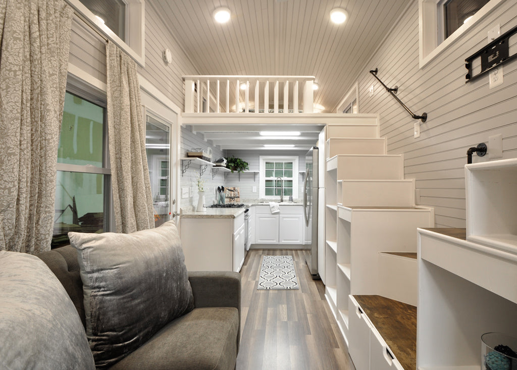 "Tiny Home Designs: The Elegant ""Kate"" Tiny Home On Wheels By Tiny House"