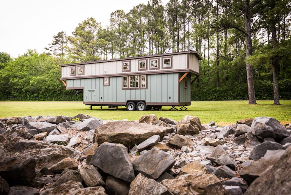 Retreat Tiny House on Wheels by Timbercraft Tiny Homes in Alabama