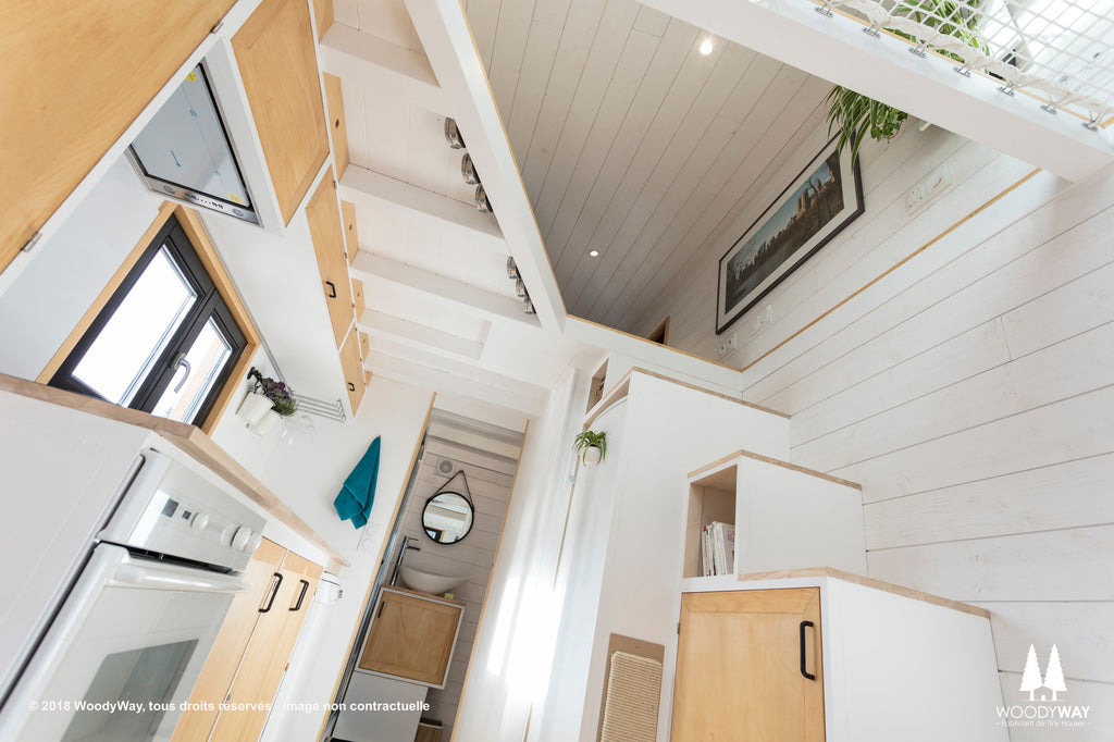 "The Beautiful 220-sqft ""Athena"" Tiny House by WoodyWay Houses"