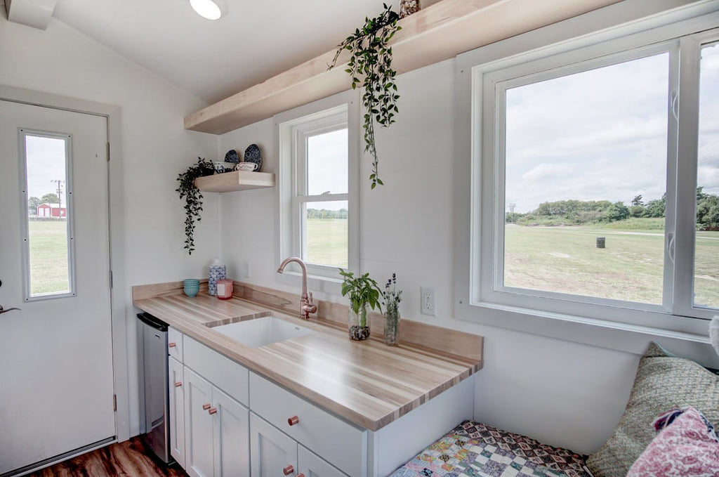 "The ""Nugget""—An Adorable 100-sqft Tiny House by Modern Tiny Living"