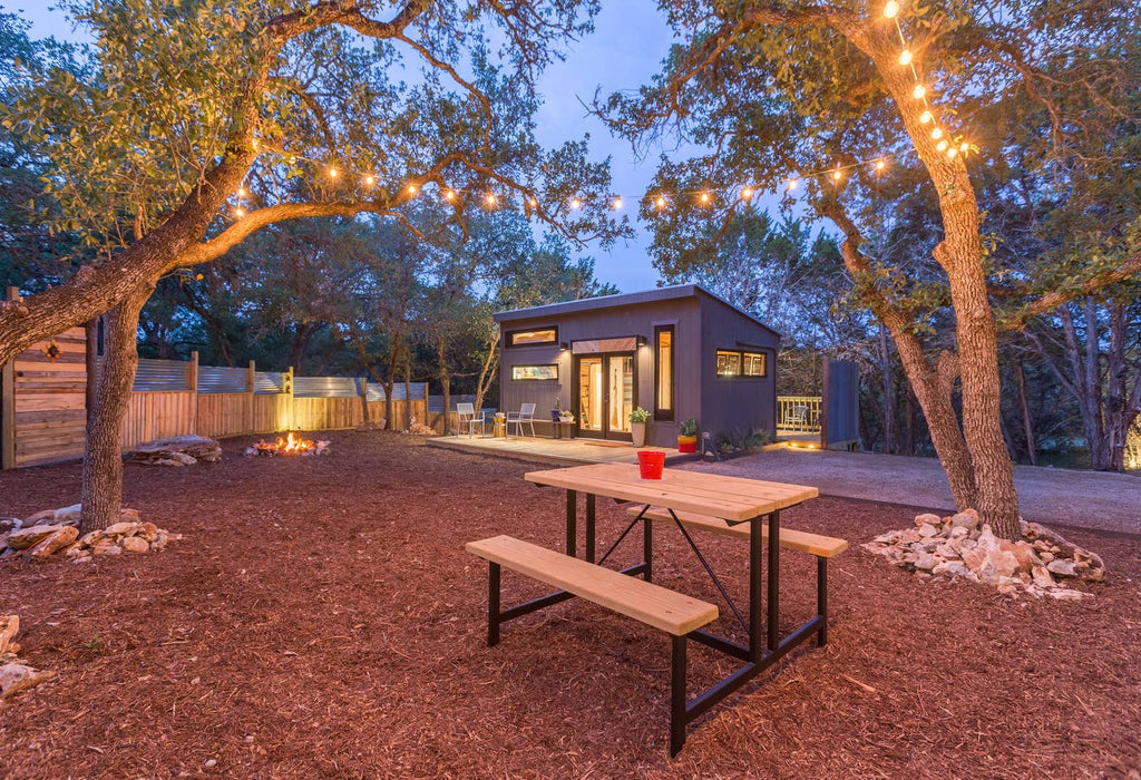 Sundown Designer Tiny House for rent on Airbnb in Wimberley, Texas