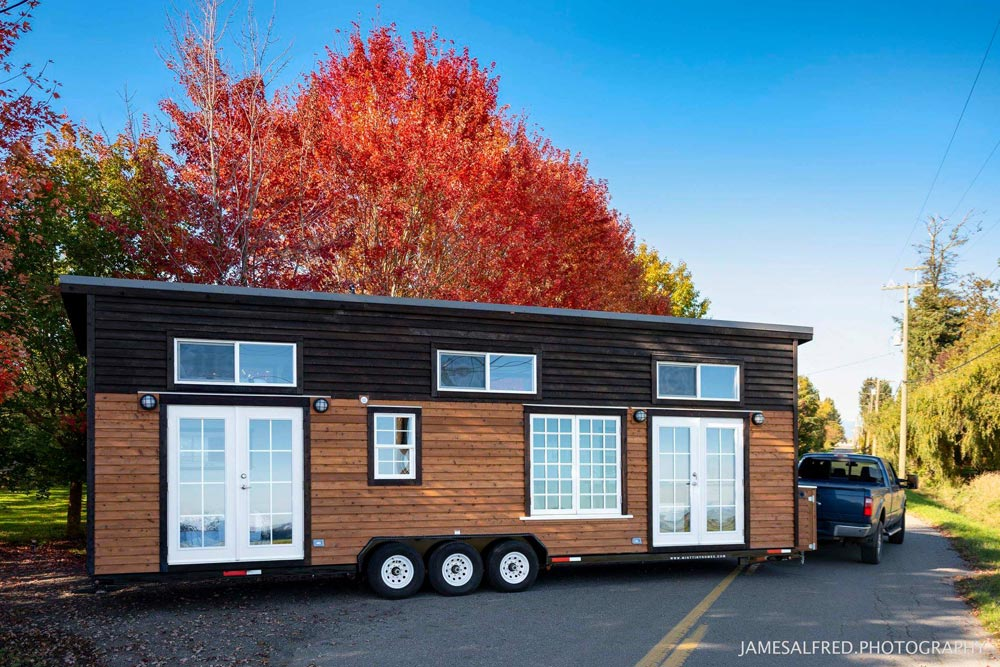 Custom 34' Tiny House on Wheels by Mint Tiny Homes