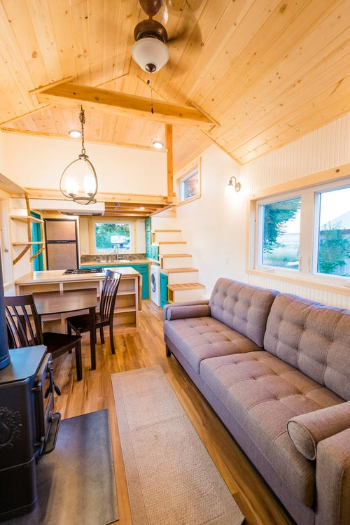 Laura's 26' x 10' Tiny House on Wheels by MitchCraft Tiny Homes