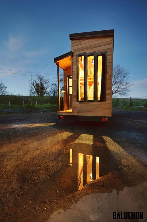 "The 185-sqft ""Escapade"" Tiny House by French-based Baluchon Tiny Houses"