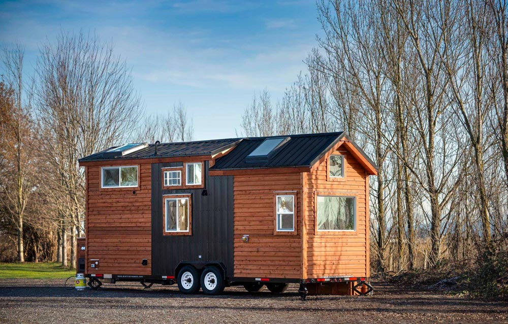 "26' Custom ""Napa Edition"" Tiny House on Wheels by Mint Tiny Homes"