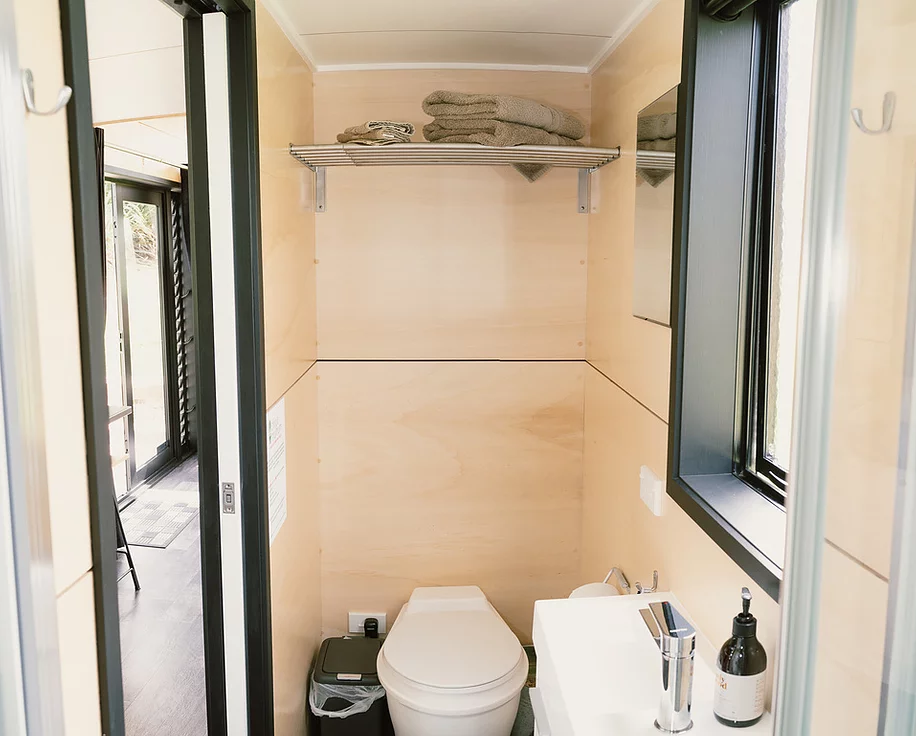 "The 23.6' ""Boomer"" Tiny House on Wheels by BuildTiny"