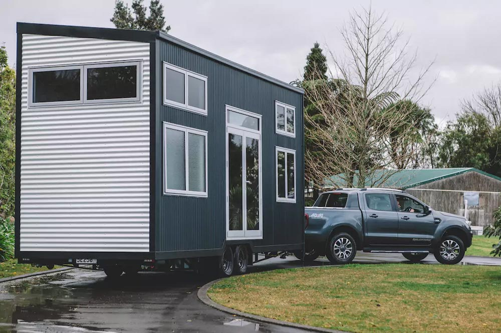 Millennial Tiny House on Wheels by Build Tiny Limited in New Zealand - Exterior