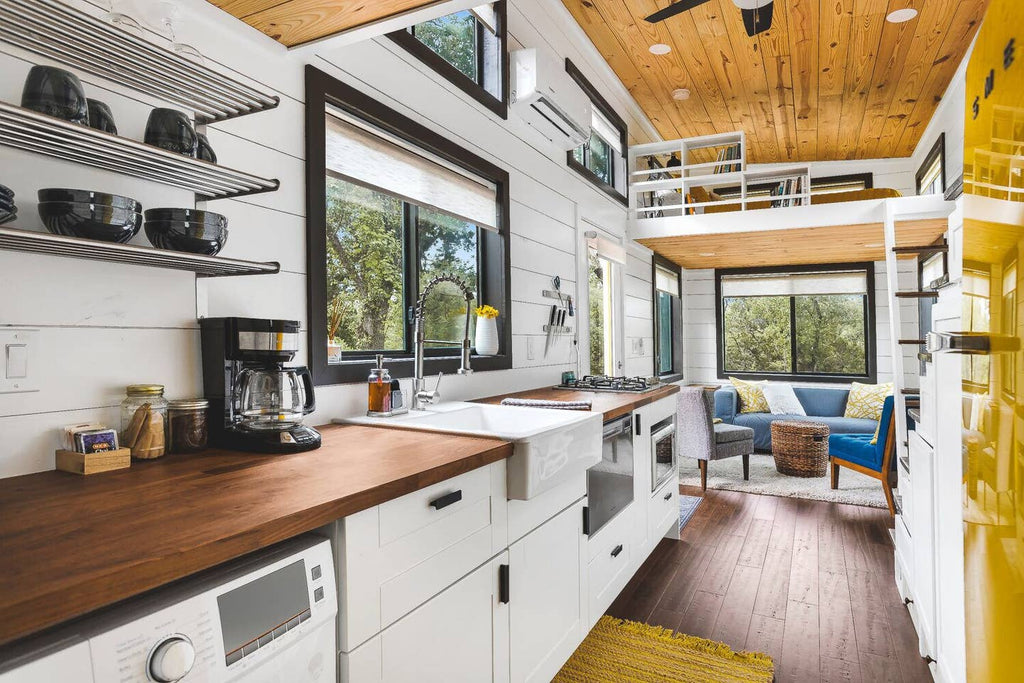 """Tiny Homestead"" Tiny House on Wheels for rent on Airbnb in Austin, TX"