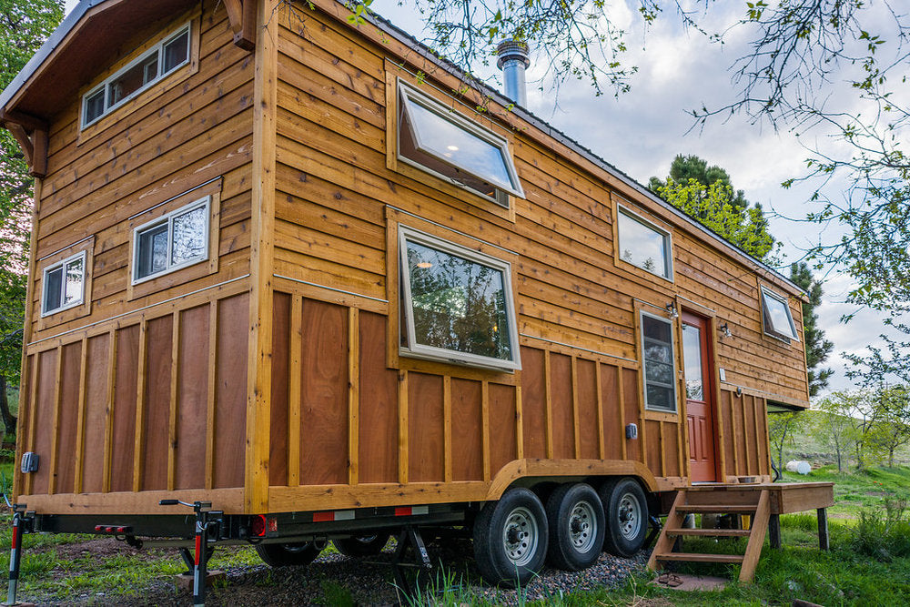 Eric and Oliver's 10' x 33' Tiny House by MitchCraft Tiny Homes