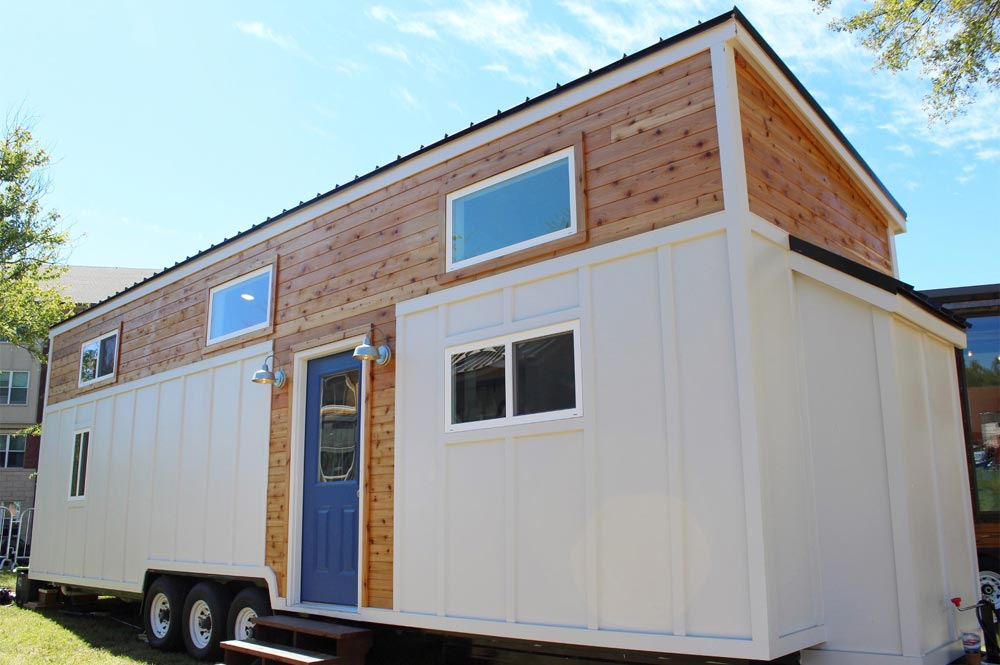 "Huge 385-sqft ""Everest"" Tiny House on Wheels by Mustard Seed Tiny Homes"