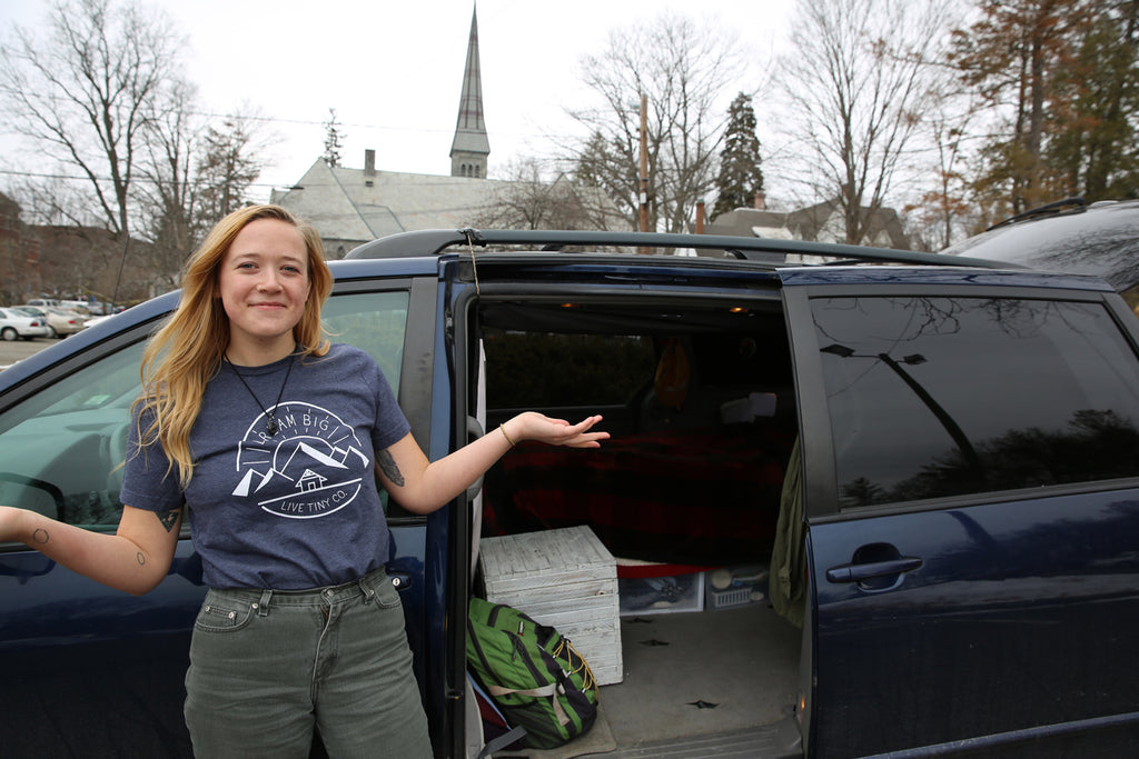 Interview with Amanda—Full-Time Student, Full-Time VanLifer