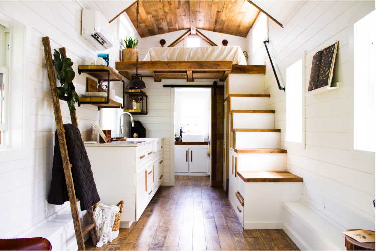 Tiny Home Designs: The Modern Farmhouse Tiny House On Wheels By Liberation