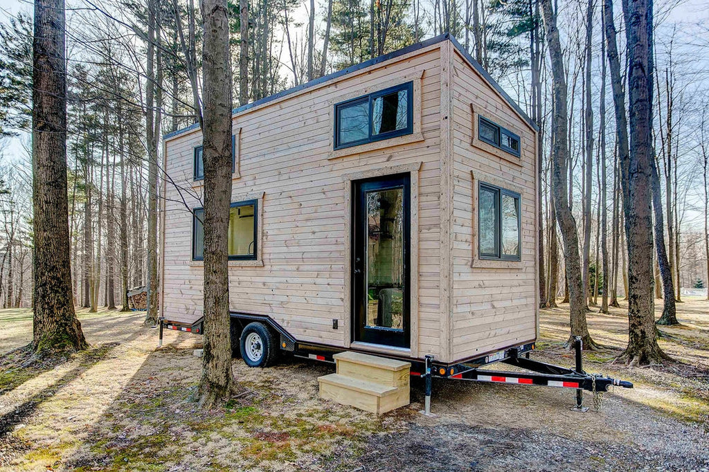 Mohican tiny house on wheels by modern tiny living