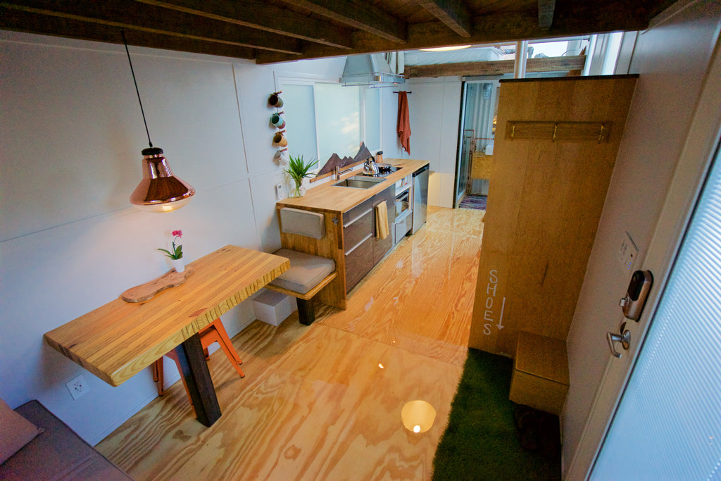 "The Handcrafted ""Urban Crash"" Tiny House FOR SALE in Tampa, Florida"