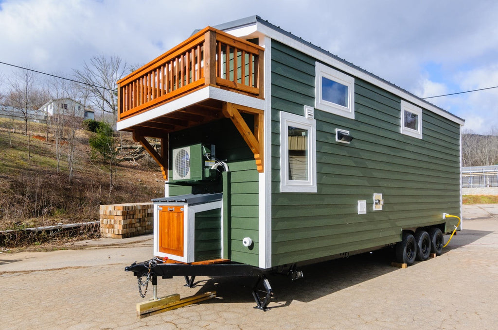 "The 26' ""Sheriff"" Tiny House by Wishbone Tiny Homes"