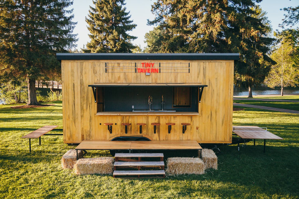 Tiny Tavern by Tongue & Groove Tiny Homes in Bend, Oregon
