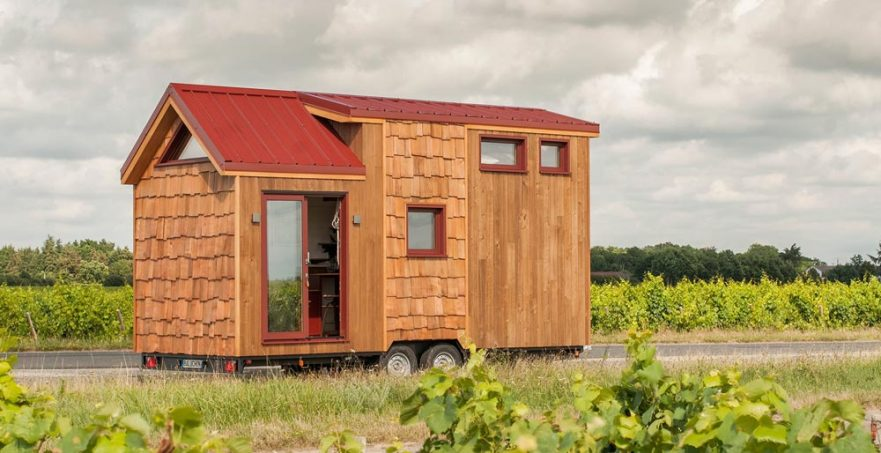 "20' ""Pampille"" Tiny Home on Wheels by Tiny House Baluchon"