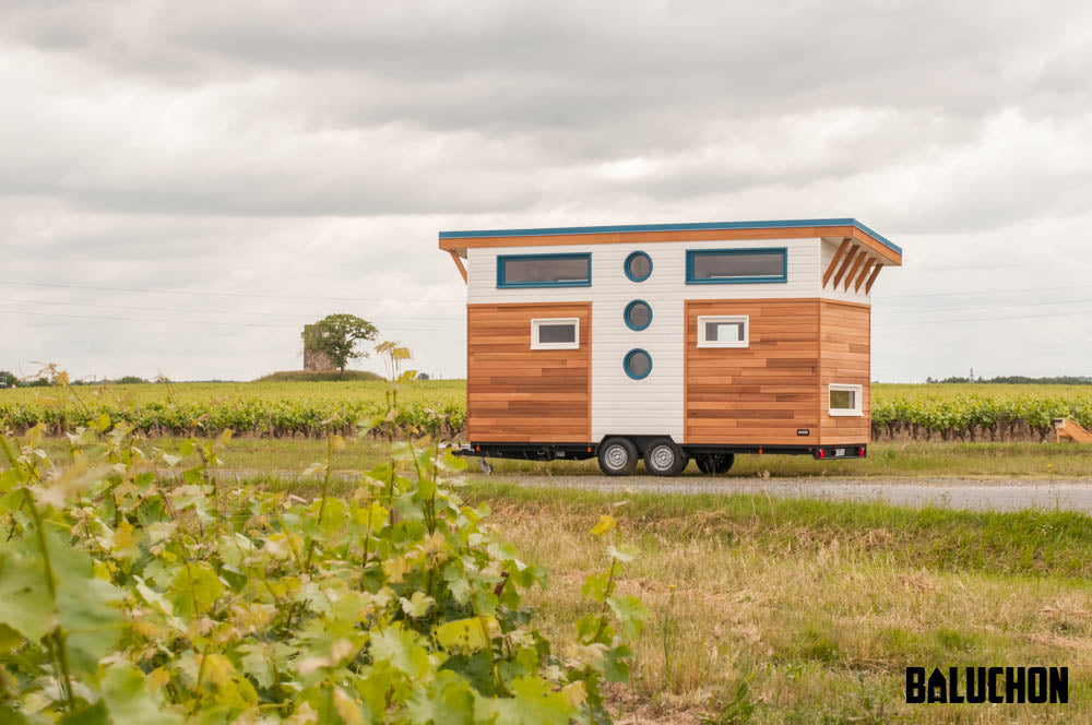 "20' 'Valhalla"" Tiny Home on Wheels by Tiny House Baluchon"