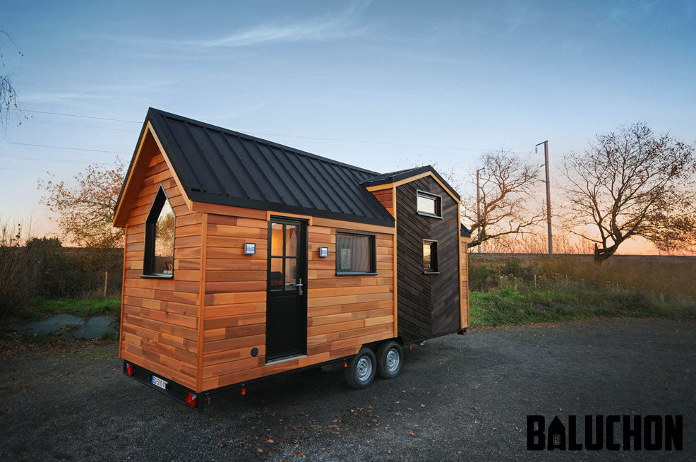 "21' ""Calypso"" Tiny Home on Wheels by Tiny House Baluchon"