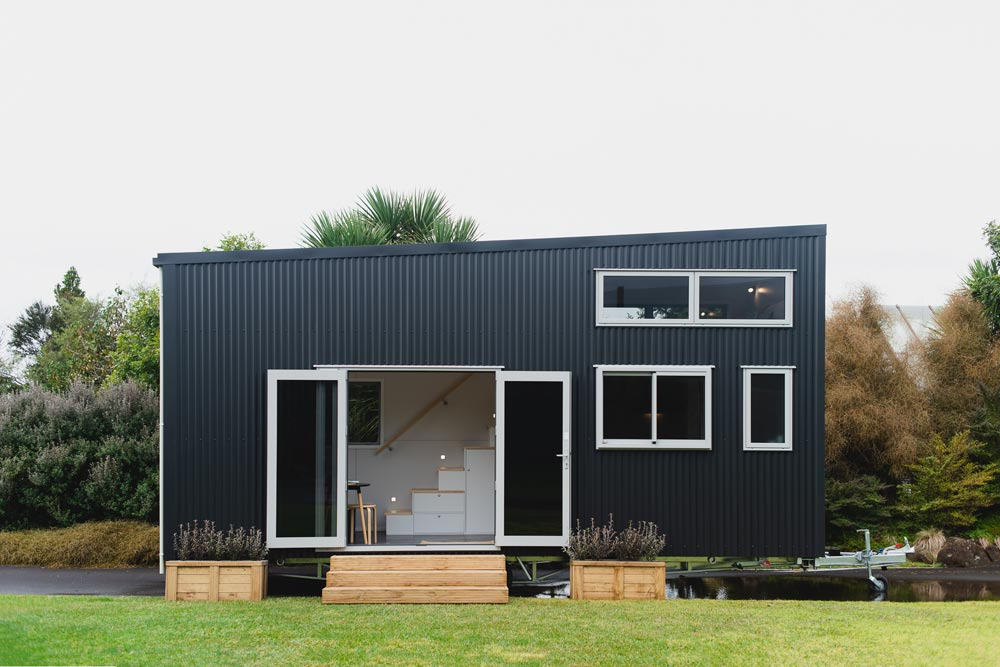 "23.5' ""Buster"" Tiny House on Wheels by New Zealand-based BuildTiny"