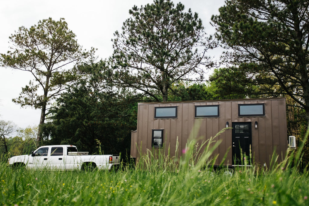 "24' ""Ironclad"" Tiny House on Wheels by Wind River Tiny Homes"