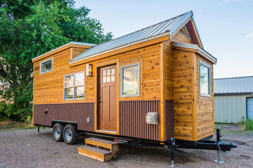 Francelia's 24' Custom Tiny House on Wheels by MitchCraft Tiny Homes