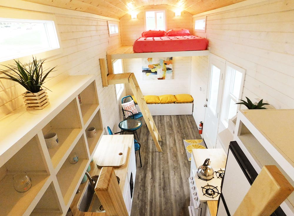 "26' ""Artist's"" Tiny House on Wheels by Tiny Idahomes"