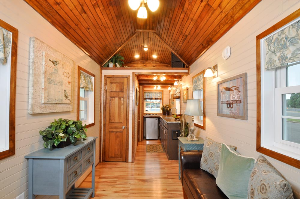 "272-sqft ""Pioneer"" Tiny Home on Wheels by Tiny House Building Company"
