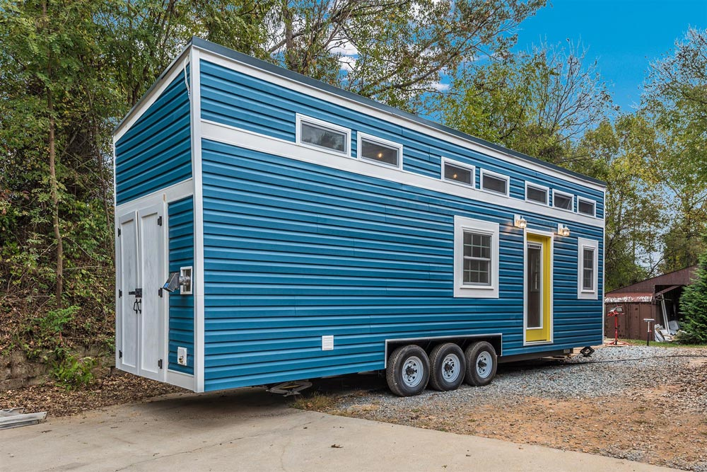 "30' ""Sanibel"" Tiny House on Wheels by Humble Houses"