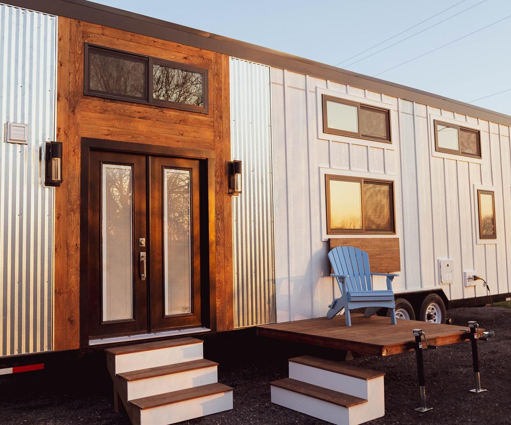 "32' ""Modern"" (Take Four) Tiny House on Wheels by Liberation Tiny Homes"
