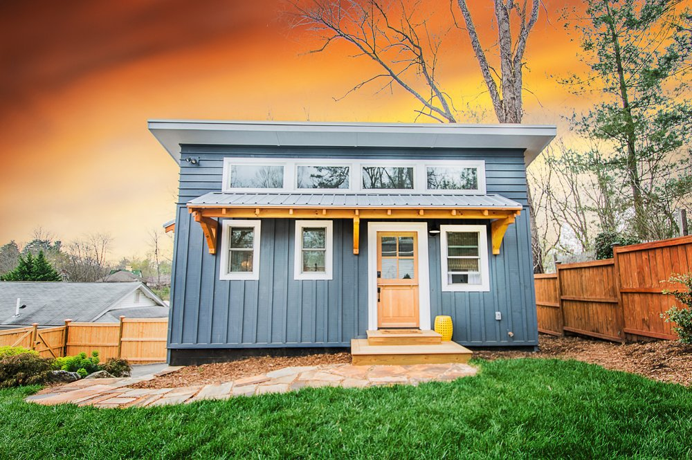 384 sqft Backyard ADU Tiny House in Asheville, North Carolina