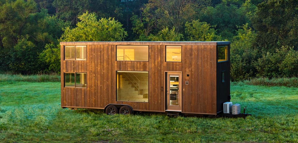 "388-sqft ""Escape One XL"" Tiny Home on Wheels by Escape Homes"