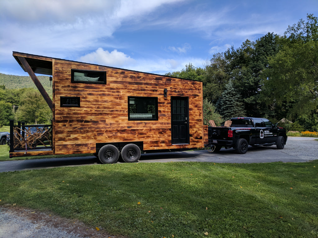 "160-sqft ""Aradia"" Tiny House on Wheels by B&B Micro Manufacturing"