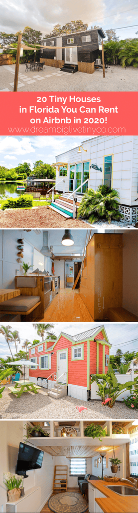 20 Tiny Houses in Florida You Can Rent on Airbnb in 2020!