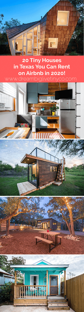 20 Tiny Houses in Texas You Can Rent on Airbnb in 2020!