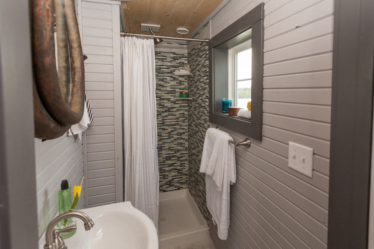 200 sqft Cape Cod Tiny Home by Viva Collectiv - Bathroom