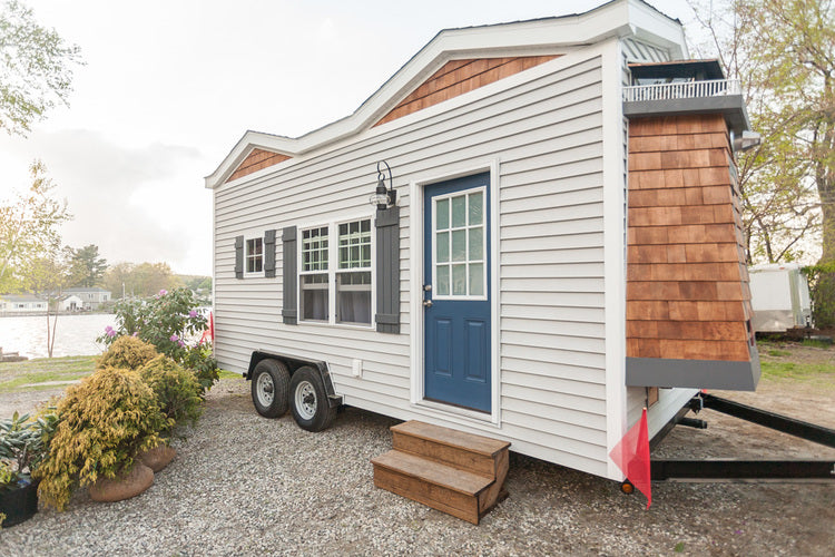 200 sqft Cape Cod Tiny Home by Viva Collectiv - Exterior