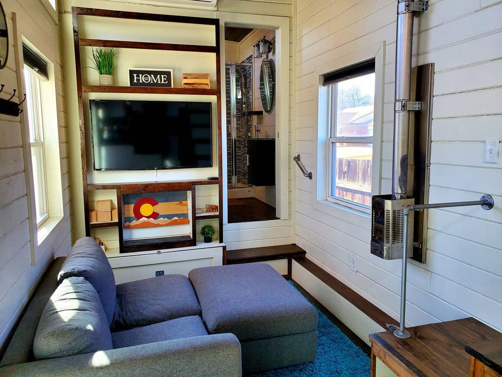 Solar-Powered Tiny House in Mountain Town for rent on Airbnb in Canon City, Colorado