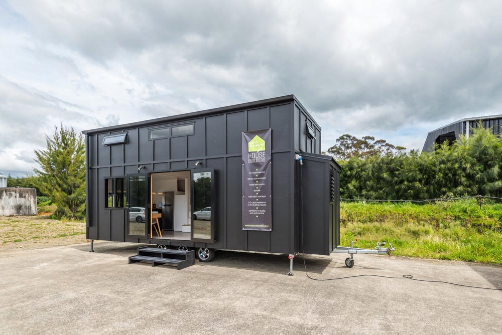 "10' x 27' ""Pohutukawa"" Tiny Home on Wheels by Tiny House Builders"