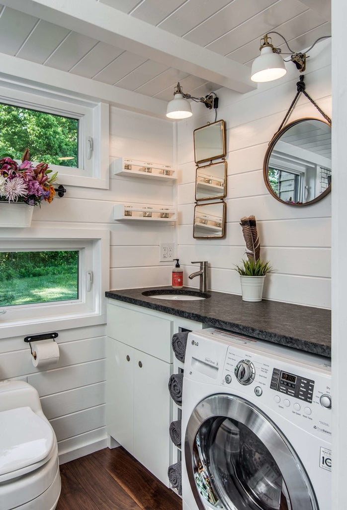 Alpha Tiny House on Wheels by New Frontier Tiny Homes