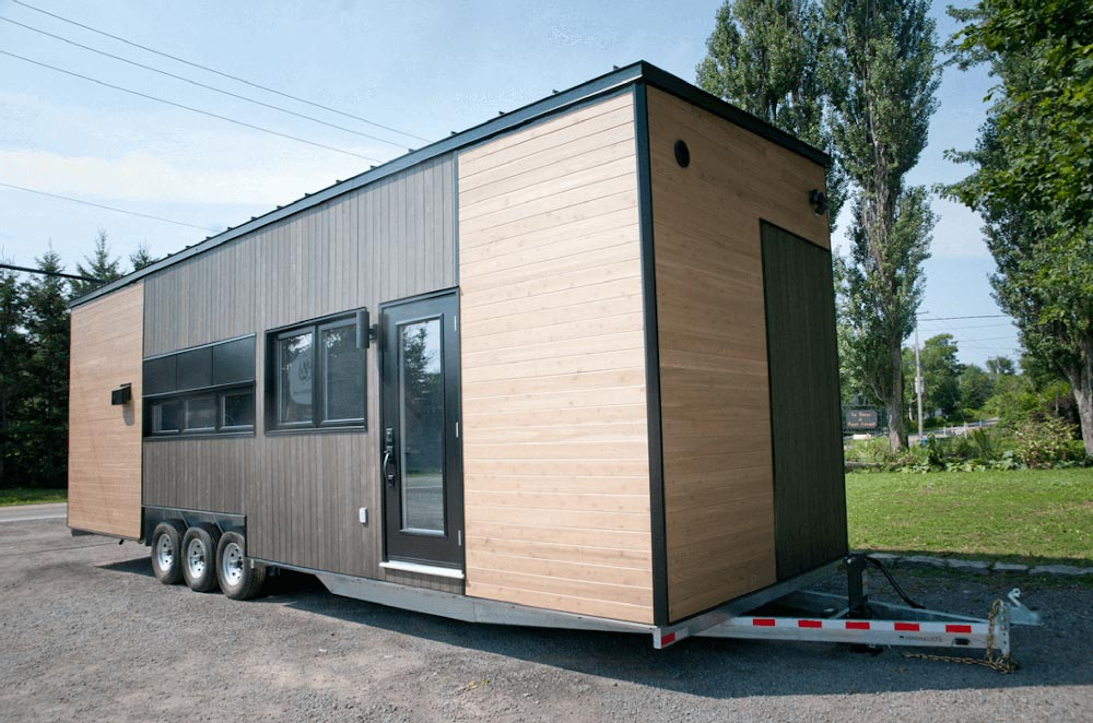 "Larger 34.5"" x 10.5"" Tiny Home on Wheels by Minimaliste Tiny Houses"