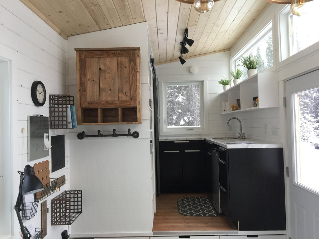 """Open Concept Rustic Modern"" DIY Tiny House by Ana White"