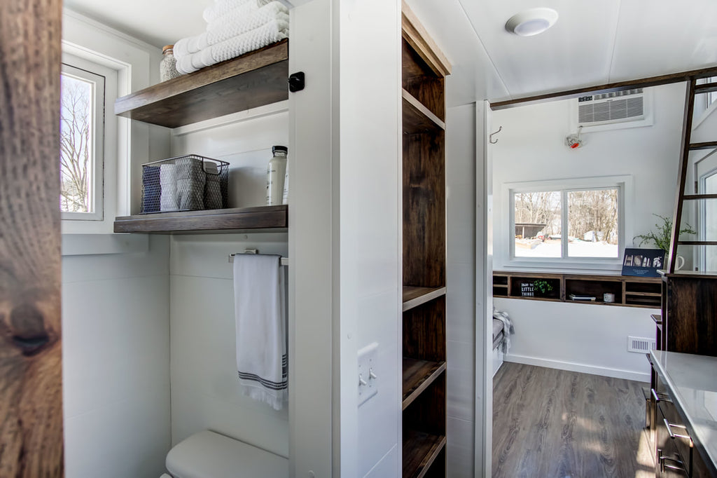 "The Bright 20' ""Cocoa"" Tiny House on Wheels by Modern Tiny Living"