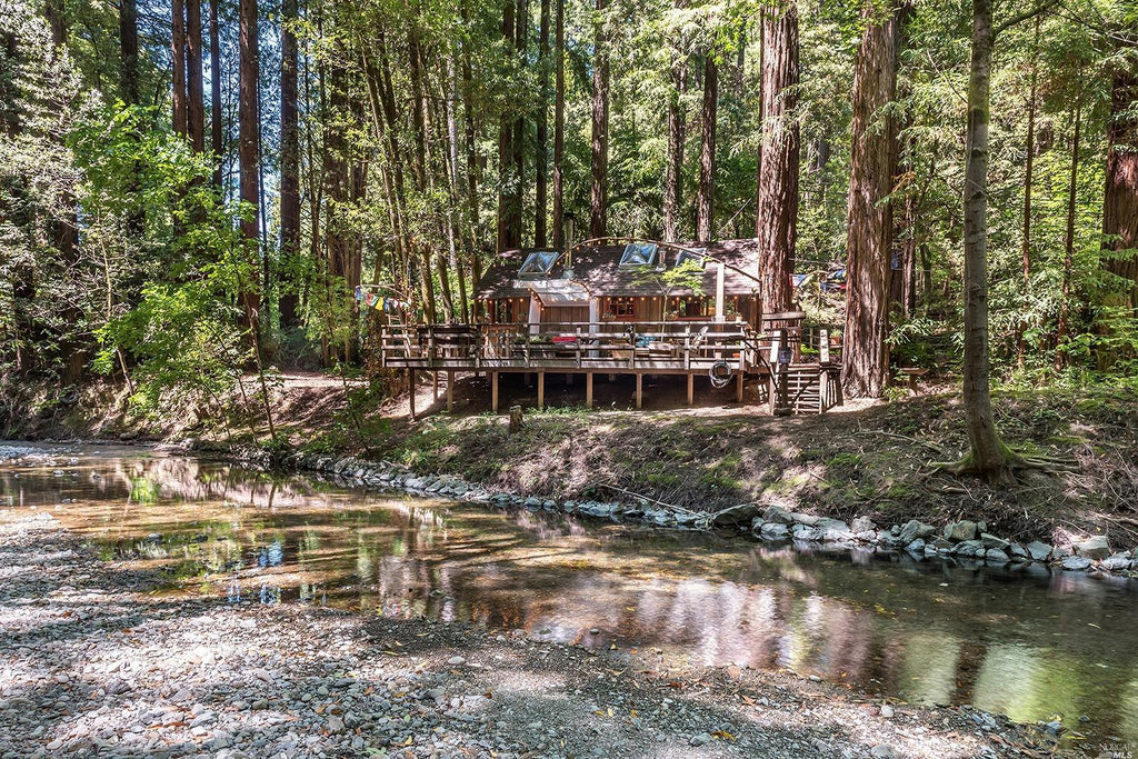 Tiny Redwood Cabin and Treehouse with Zip lines in Monte Rio, California