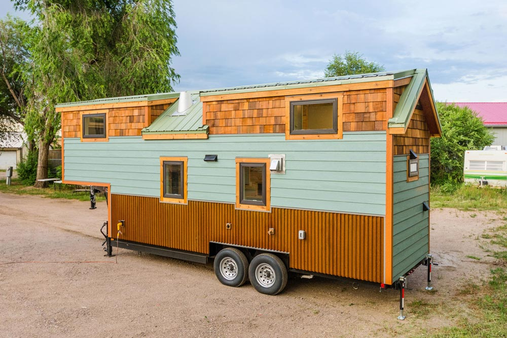 Custom 28' Gooseneck Tiny House on Wheels by MitchCraft Tiny Homes