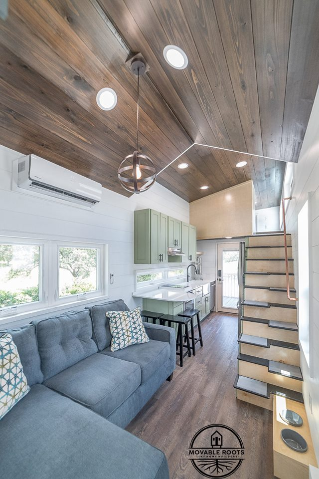 "3-Bedroom ""Elmore"" Tiny House on Wheels by Movable Roots"