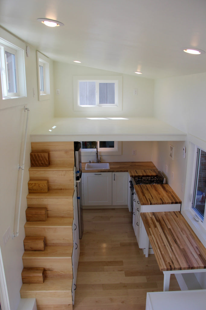 "24' ""Chickadee"" Tiny House on Wheels by Brevard Tiny Homes"