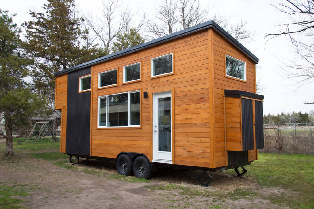 Beautiful Custom 26' Tiny House on Wheels FOR SALE in Kansas