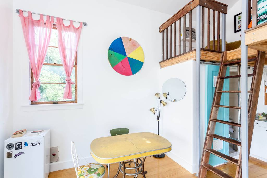 Lofted Tiny House in Austin, Texas for rent on Airbnb